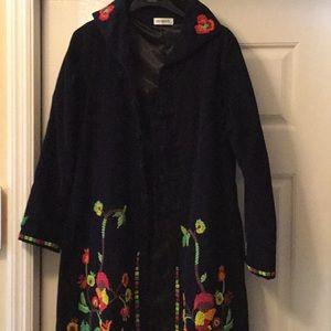 Escapade designer Coat, M. Never worn.